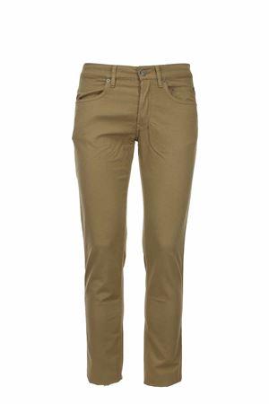 Pantalone cotone e lino elasticizzato 5 tasche Siviglia | 146780591 | MQ200180240209
