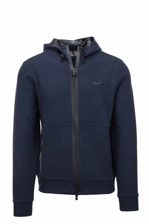 Zip cardigan sweatshirt with hood Aeronautica Militare | 22 | FE1623-08312