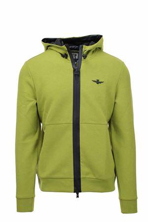 Zip cardigan sweatshirt with hood Aeronautica Militare | 22 | FE1623-57440