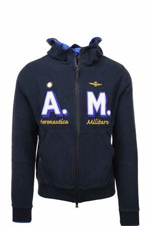 Zip cardigan sweatshirt with hooder Aeronautica Militare | 22 | FE1637-08312
