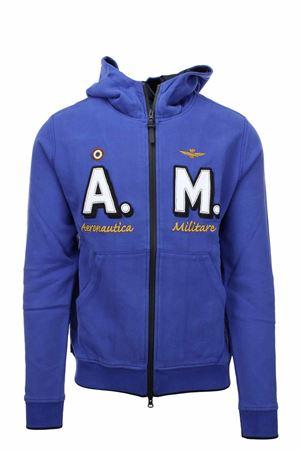 Zip cardigan sweatshirt with hood Aeronautica Militare | 22 | FE1637-08315
