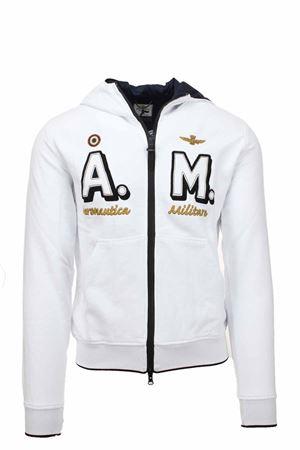 Zip cardigan sweatshirt with hooder Aeronautica Militare | 22 | FE1637-73062