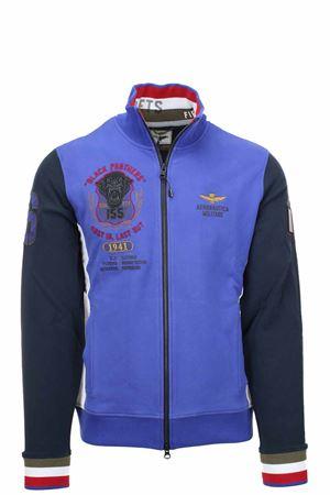 Zip cardigan sweatshirt Black Panters Aeronautica Militare | 22 | FE1645-94139