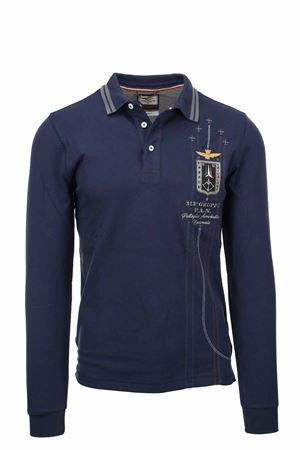 Frecce Tricolori long sleeve polo shirt Aeronautica Militare | 19 | PO1574-08184