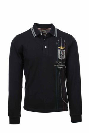 Frecce Tricolori long sleeve polo shirt Aeronautica Militare | 19 | PO1574-34300