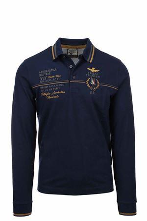 Frecce Tricolori long sleeve polo shirt Aeronautica Militare | 19 | PO1581-08184