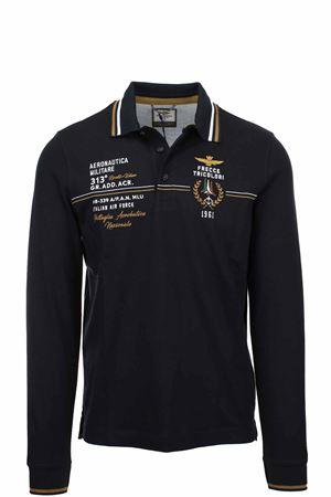 Frecce Tricolori long sleeve polo shirt Aeronautica Militare | 19 | PO1581-34300
