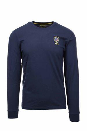 Blauer Shield Long Sleeve T-shirt BLAUER | 34 | BLUH01284004547795