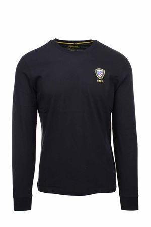T-shirt manica lunga scudetto Blauer BLAUER | 34 | BLUH01284004547999