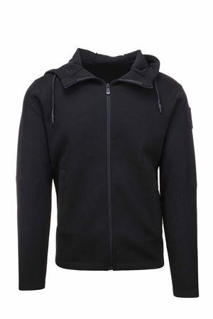 Zip cardigan with hood BLAUER | 435618598 | BLUM08232006082999