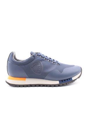 Sneaker in nylon con scudetto BLAUER | 38 | F1DENVER03BALNVY