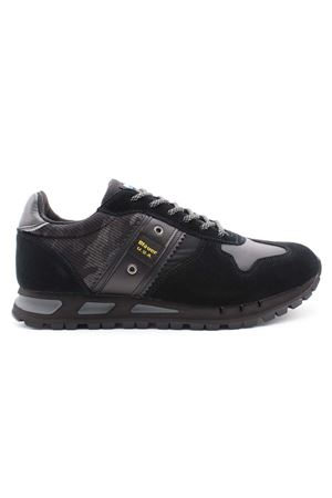 Sneaker camouflage mesh-suede BLAUER | 38 | F1MUSTANG06CAMBLK
