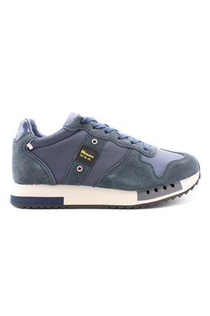 Sneaker bassa in pelle taslan e nylon BLAUER | 38 | F1QUEENS01TASNVY