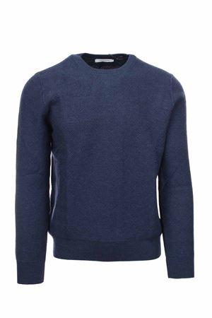 Pullover girocollo in lana merinos Gran Sasso | 435618598 | 5714714251595