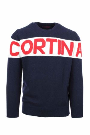 Pullover girocollo in lana Cortina Saint Barth MC2 | 435618598 | HERONCOSR60
