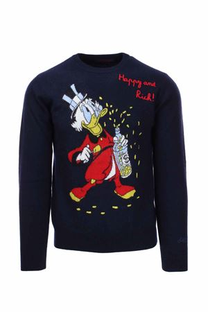 Cortina wool crew-neck sweater Saint Barth MC2 | 435618598 | HERONEMRI61