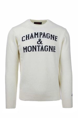 Pullover girocollo lana Champagne & Montagne Saint Barth MC2 | 435618598 | HERONMNCH10