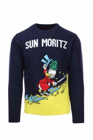 Cortina wool crew-neck sweater Saint Barth MC2 | 435618598 | HERONSCMO61