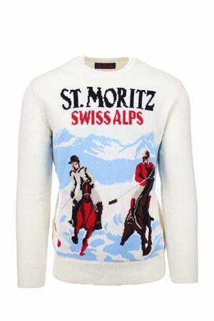 Pullover girocollo lana St. Moritz Swiss Alps Saint Barth MC2 | 435618598 | HERONSTPH10
