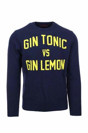 Pullover girocollo lana Gin Tonic Vs Gin Lemon Saint Barth MC2 | 435618598 | HERONTOLE61