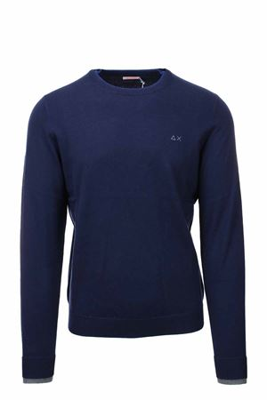 Pullover girocollo in lana e cotone SUN68 | 435618598 | K41105-07