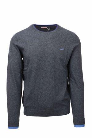 Pullover girocollo in lana e cotone SUN68 | 435618598 | K41105-47
