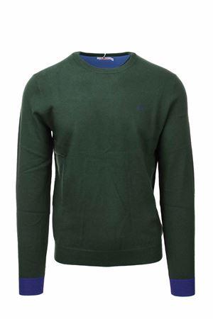 Pullover girocollo lana cotone con toppe SUN68 | 435618598 | K41110-74