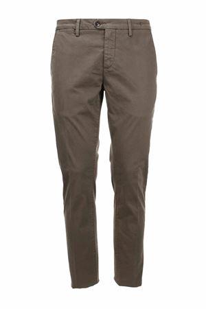 Pantalone chino in raso di cotone stretch Teleriazed | 146780591 | ROBINCV730