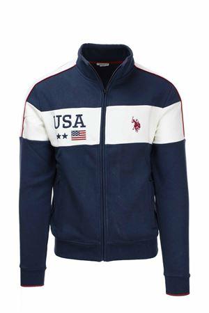 Felpa cardigan zip collo alto US Polo Assn | 22 | 6070652910179