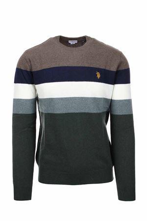 Pullover girocollo righe multicolor US Polo Assn | 435618598 | 6092652934746