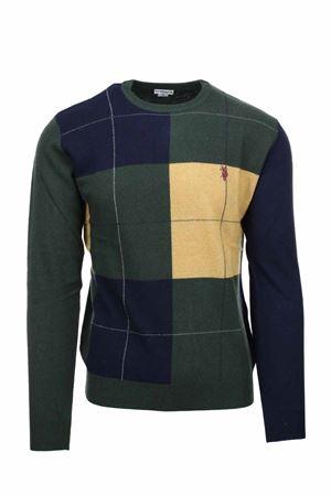Pullover girocollo quadri multicolor US Polo Assn | 435618598 | 6092852932541