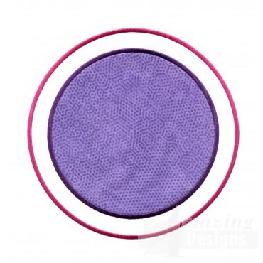 Peekaboo Applique 6 Embroidery Design