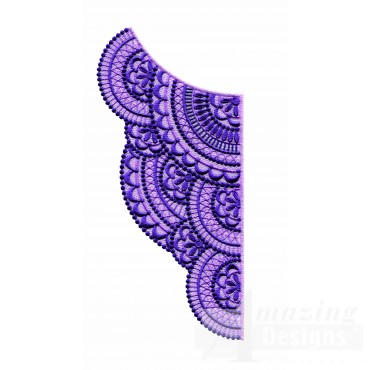 Lace411 Fashionable Lace Embroidery Design