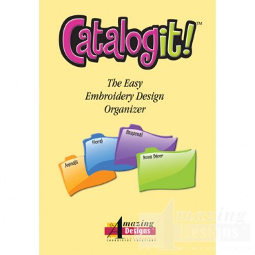 Catalog It! Embroidery Design Organizer