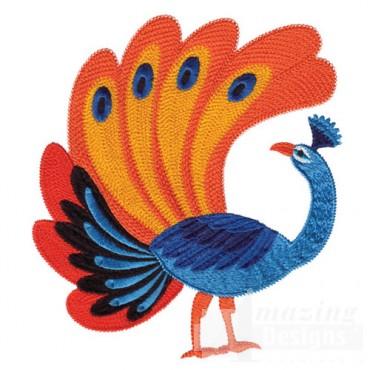 Jacobean Peacock 5