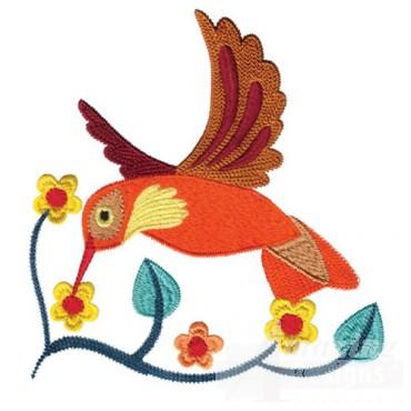 Jacobean Hummingbird 2