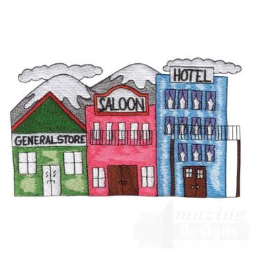 Store, Saloon, Hotel