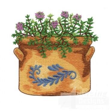 Large Flower Pot 2