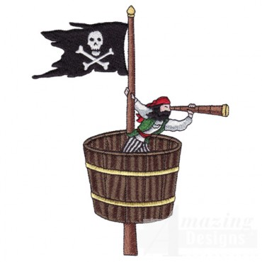 Pirate In Crow's Nest
