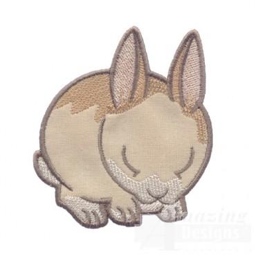 Applique Easter Bunny 2
