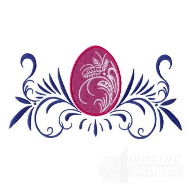 Applique Easter Egg 2