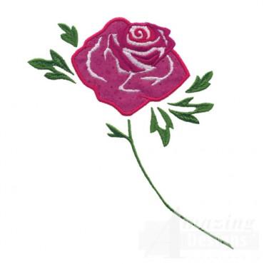 Applique Rose