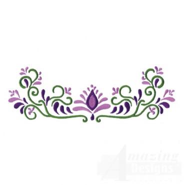 Jacobean Flower 2