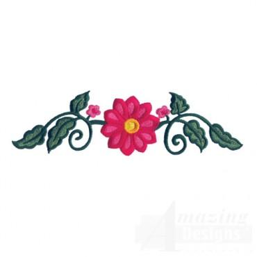 Jacobean Flower 3