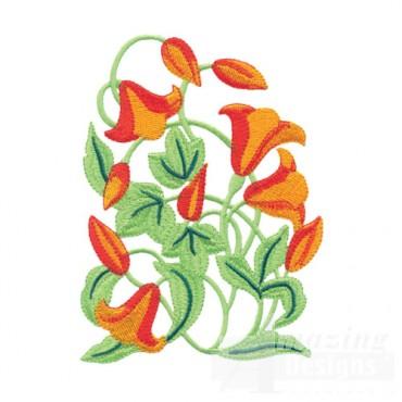 Jacobean Flower 5