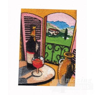 Vineyard Window View