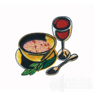 Wine and Soup
