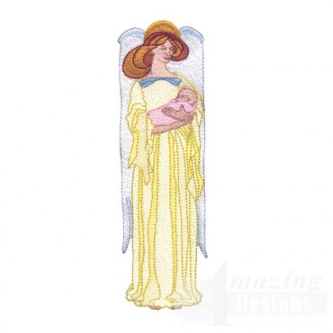 Angel With Baby