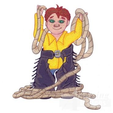 Cowboy And Rope 2