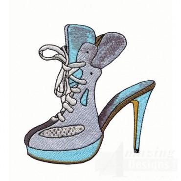 Tennis Shoe High Heel